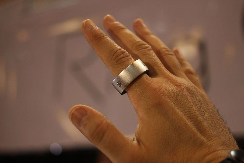 Apple smart ring gesture control