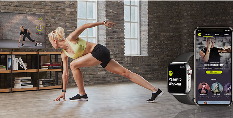 Wondercise Motion Matching Home Fitness System