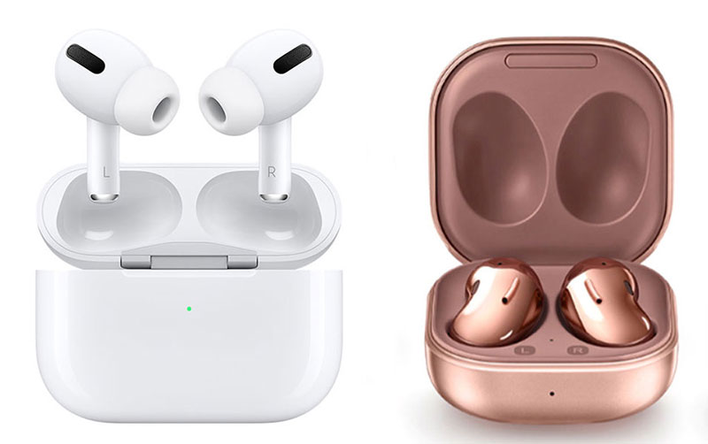 AirPods Pro vs. Galaxy Buds Live
