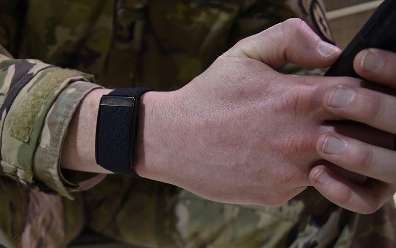 Pentagon using wearables to fight stress and injury