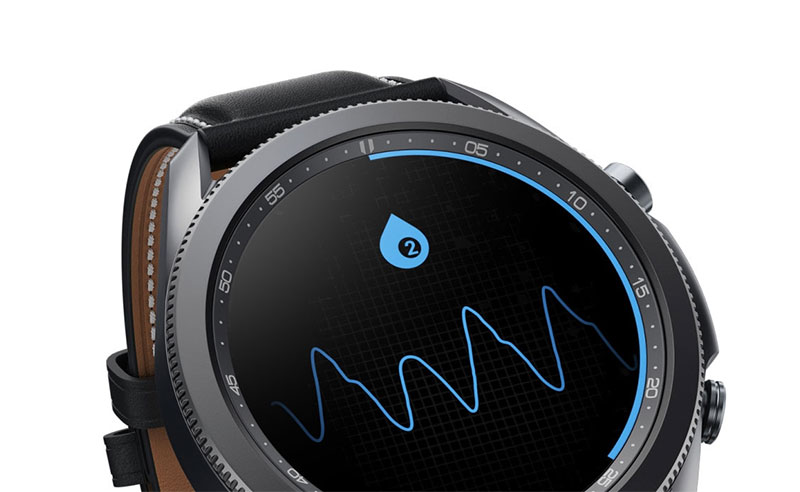 Measure blood oxygen with smartwatch