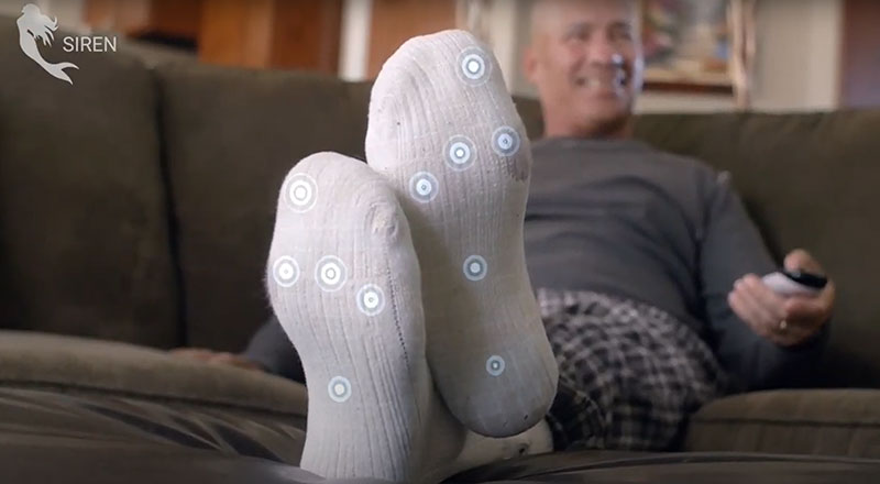 These Smart Socks Can Save Diabetics From Amputation