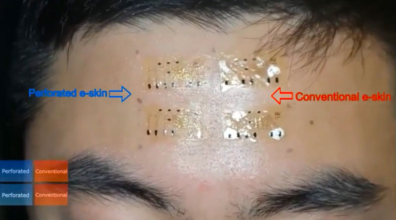 Sweat-Proof Smart Skin Takes Reliable Vitals