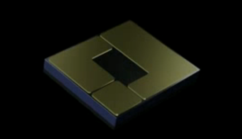 Microchip with cooling system