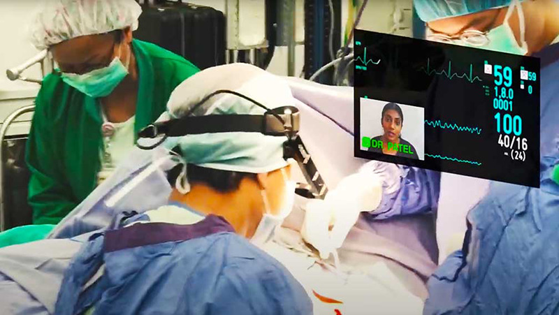 Wearables Helping Surgeons In Operating Room